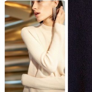 BOGO! Club Monaco Margee Cashmere Mock Neck Sweater
